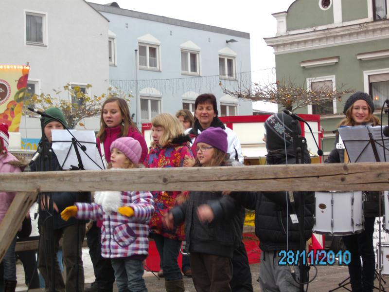 1. Nikolausmarktauftritt in Frontenhausen