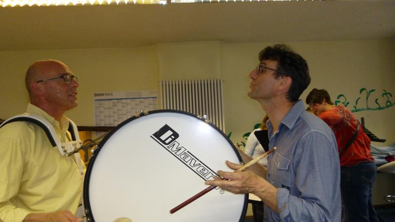 1. Rhythmuslehrgang mit Ron Siegl